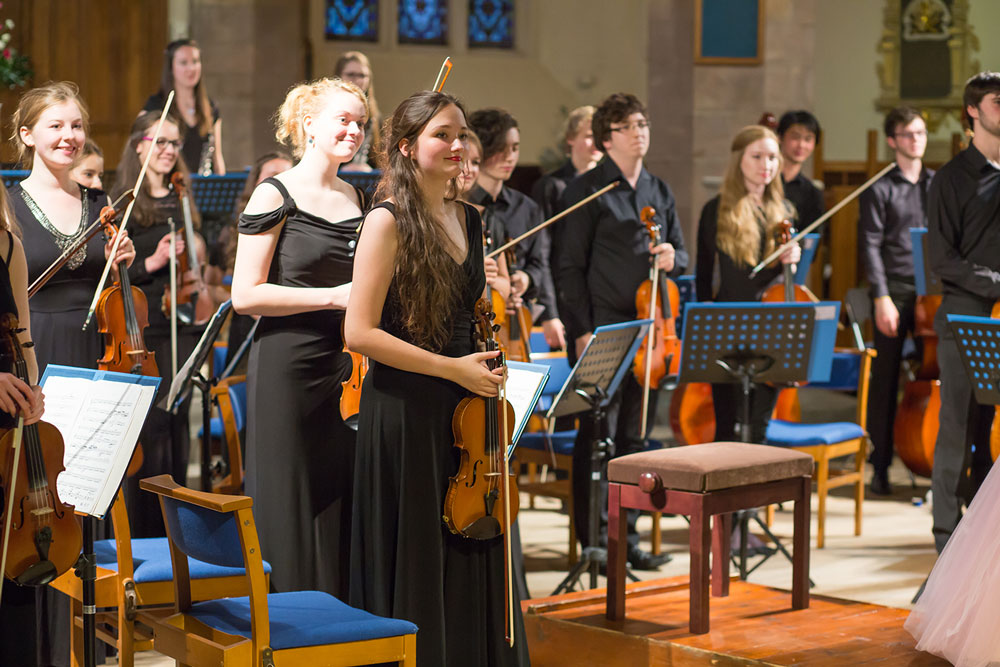 Chamber Orchestra Concert August 2015